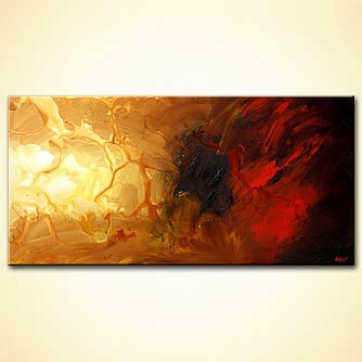 Abstract painting - Lights
