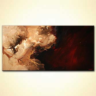 Abstract painting - The Rock