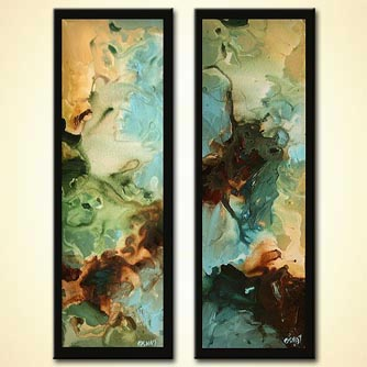 Abstract painting - When Two are One