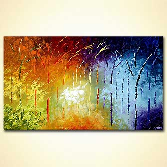 Forest painting - Enchanted