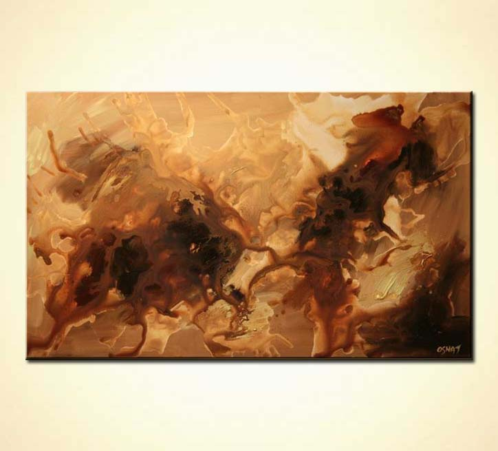 Painting For Sale Abstract Painting In Brown Tones
