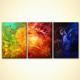 Abstract painting - East