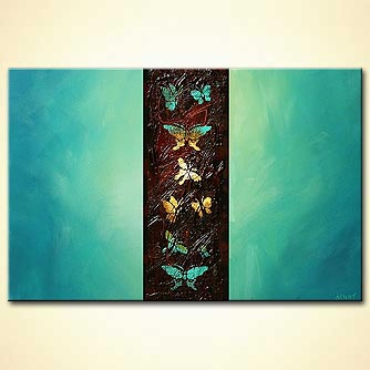 modern abstract art - The Butterfly Effect