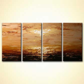 modern abstract art - Landscape