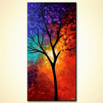 modern abstract art - Tree of Life