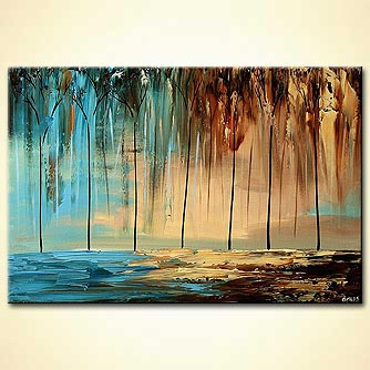 Landscape painting - By the Sea