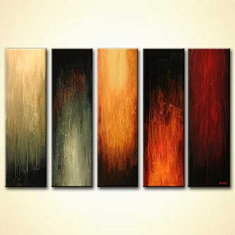 Abstract painting - Five