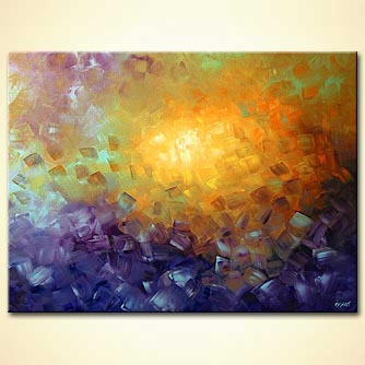 Abstract painting - Softness