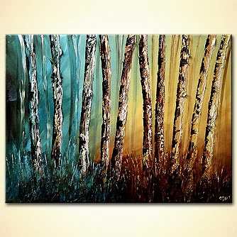 Forest painting - United