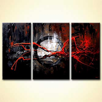Abstract painting - Frequency