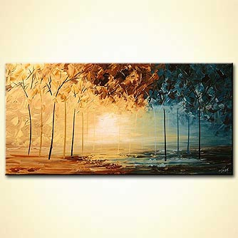 Landscape painting - Untitled