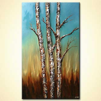 Landscape painting - Standing Tall