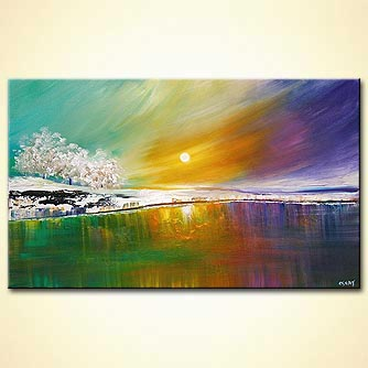 canvas print - Winter Warmth