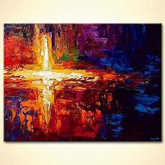 Abstract painting - Seeing the Light