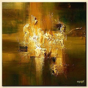 Abstract painting - The Secret