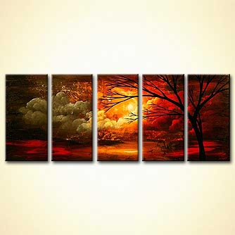 Landscape painting - Change of Seasons