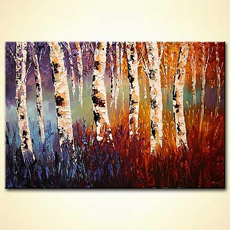 canvas print - Dance of Nature