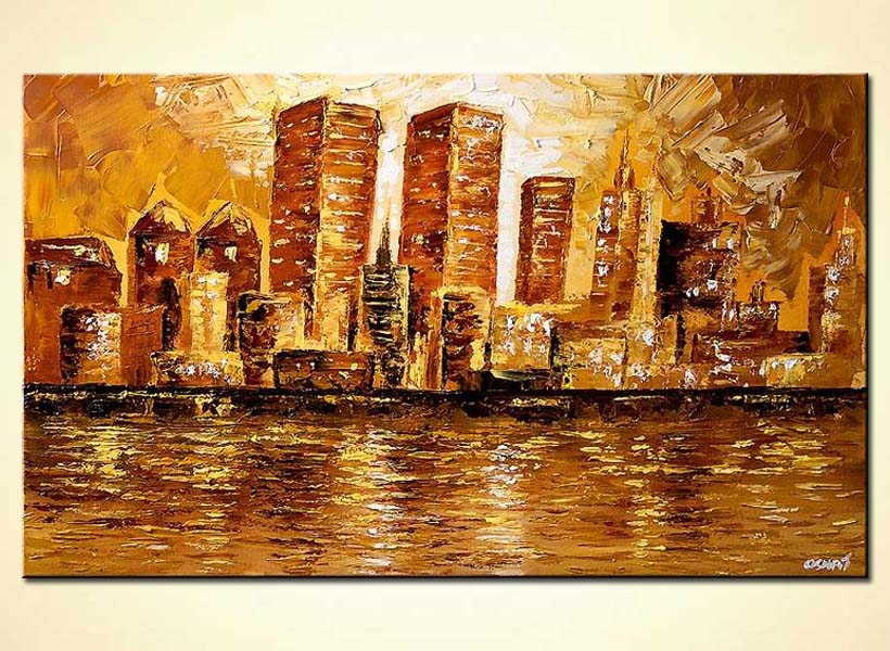 How To Paint Cityscapes With Acrylics