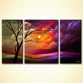 Landscape painting - New Dawn