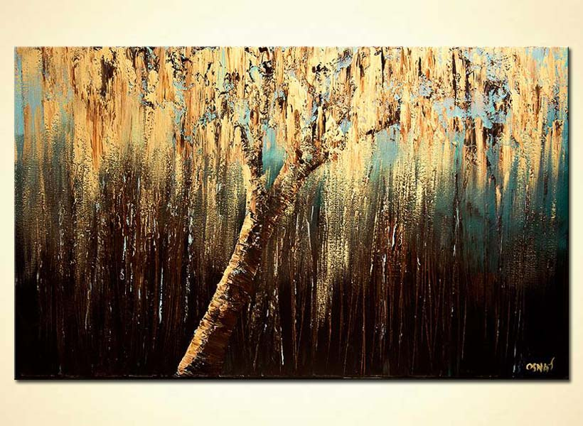 modern abstract art - The Weeping Willow