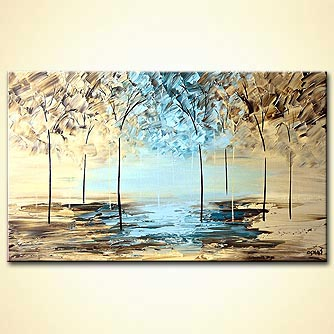 Giclee print - By the Lake