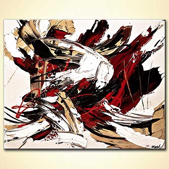 Abstract painting - The Painting