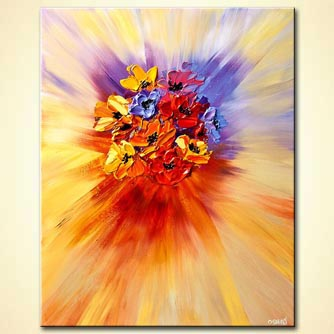 Floral painting - The Gift