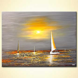 Seascape painting - Free Spirit