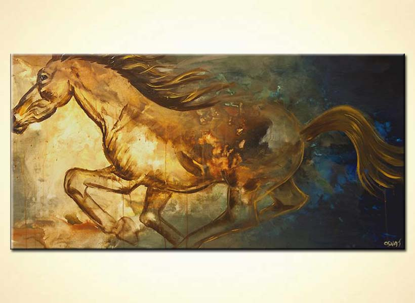 modern abstract art - Pegasus