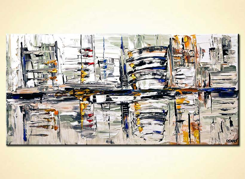 modern abstract art - Pictorial City