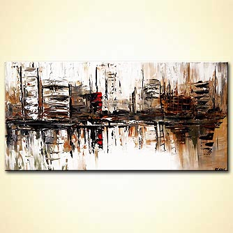 Cityscape painting - Future City