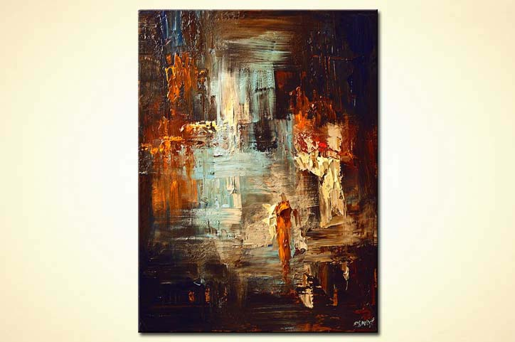Painting abstract home decor 6015 for Modern artwork for home