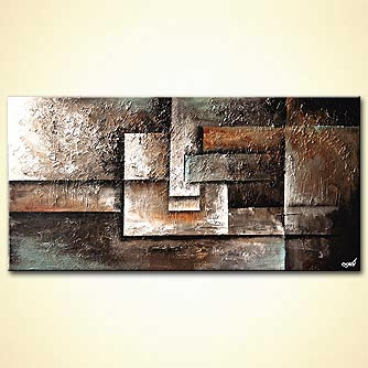 canvas print - Bricks of Sand