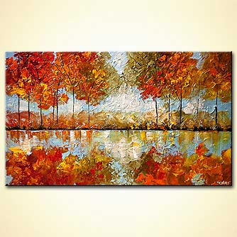 Forest painting - Indian Summer