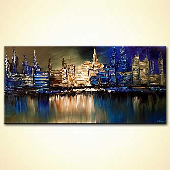 canvas print - Downtown