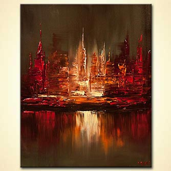 canvas print - City Lights