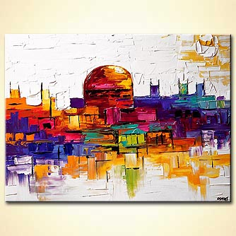 canvas print - Jerusalem