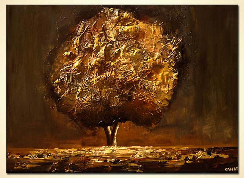 modern abstract art - The Blooming Tree