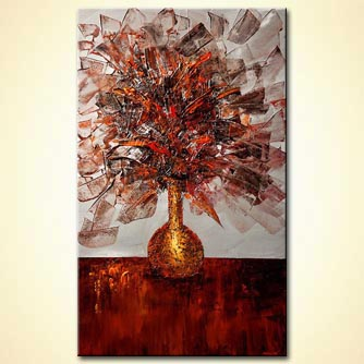 canvas print - The Golden Vase