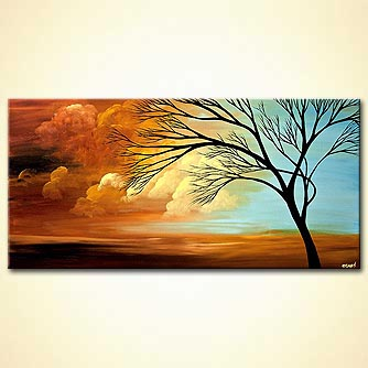 Landscape painting - Thrive