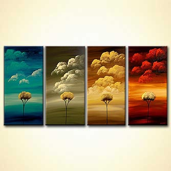 canvas print - Four Seasons
