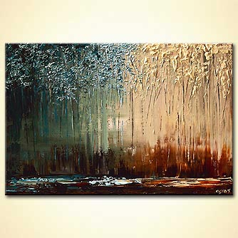 Forest painting - Wonder