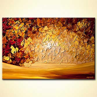 modern abstract art - Forest of Hope