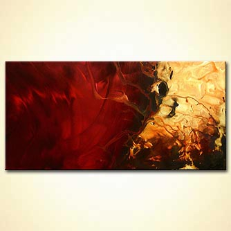 Abstract painting - Stallion