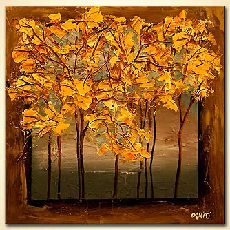 canvas print - Fall