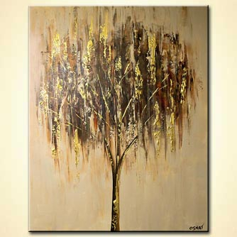 Forest painting - The Golden Tree