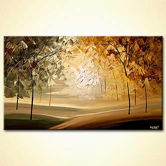Forest painting - Tranquility