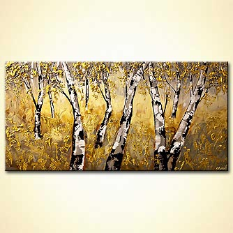 Forest painting - Enchanted Forest