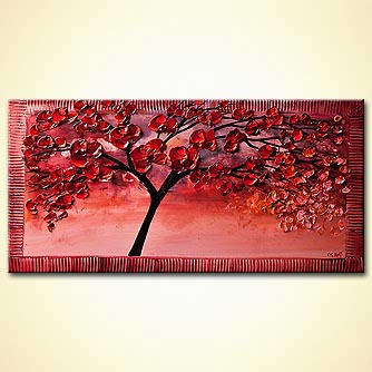 Forest painting - Cherry Blossom
