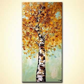 Forest painting - Growing Strong